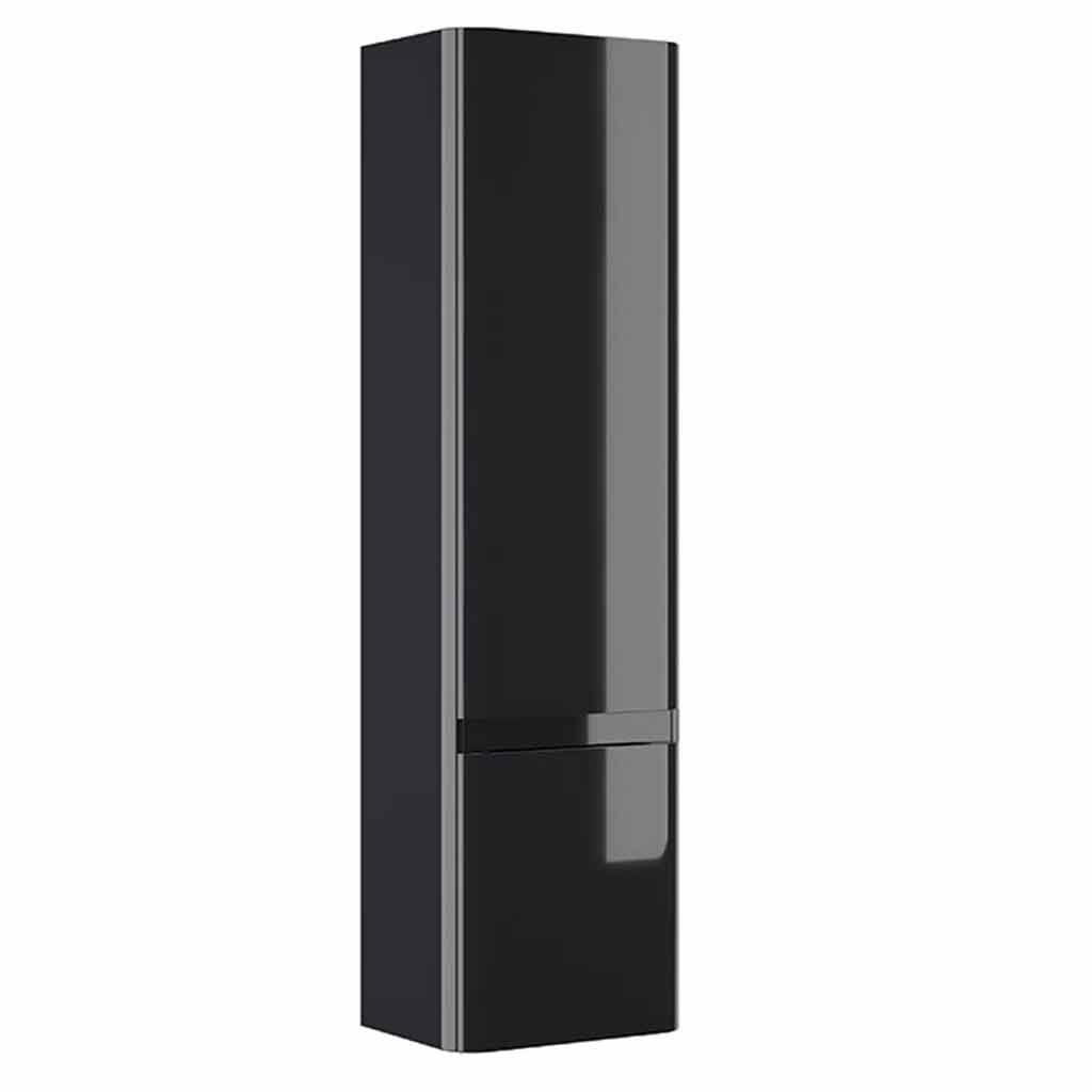 CASI 2 DOOR WALL HUNG STORAGE UNIT ANTHRACITE – RH HINGE