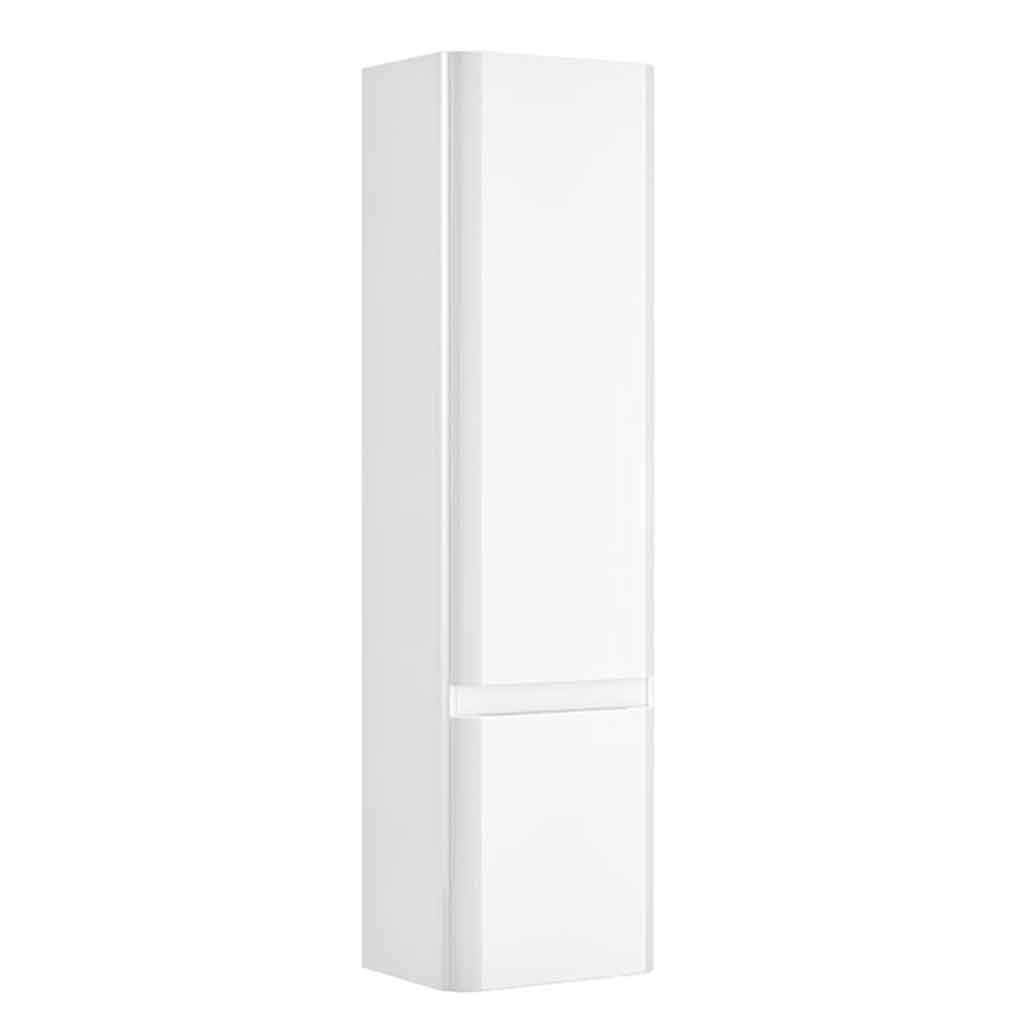 CASI 2 DOOR WALL HUNG STORAGE UNIT WHITE – RH HINGE
