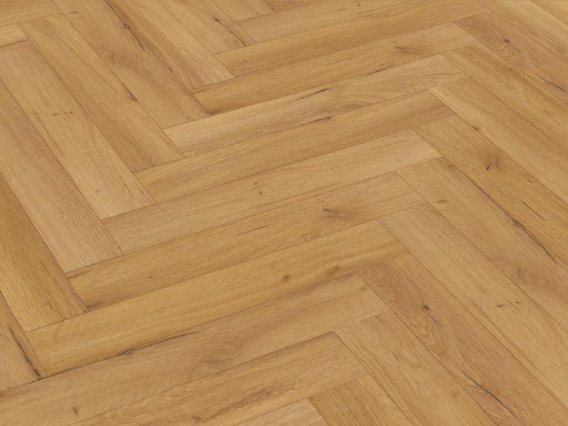 Oak Natural Robust Herringbone