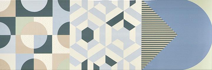 Cromatica Decor Mix Brillo 25x75 (Variation of patterns in the box)