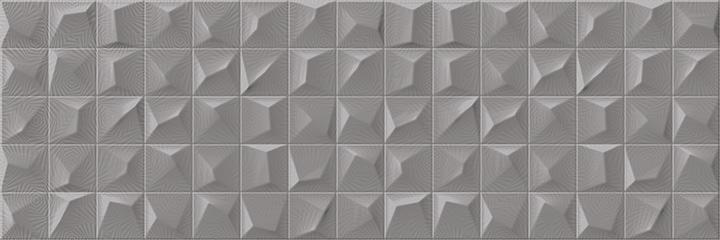 Cromatica Kleber Antracite Brillo 25x75