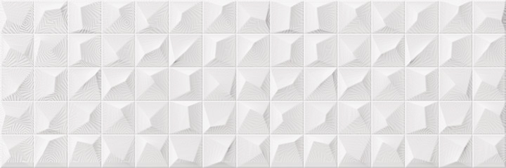 Cromatica Kleber White Brillo 25x75