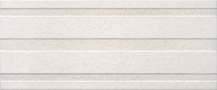 Limestone Relieve White 25x60